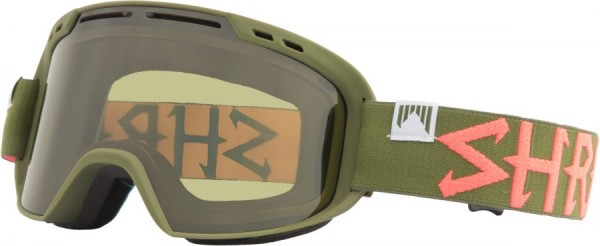 Skibrille Amazify TROOPER CBL green